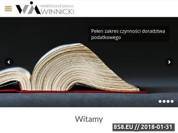 Zrzut strony Marszałkowska Winnicki - dokumentacje podatkowe