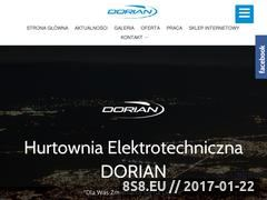 Miniaturka domeny www.dorian.pl