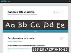 Miniaturka domeny dorjan.edublogs.org