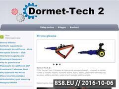 Miniaturka domeny www.dormet-tech.pl