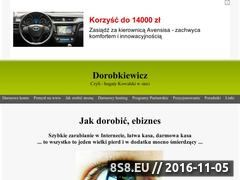 Miniaturka domeny www.dorobkiewicz.cba.pl