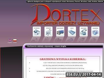 Zrzut strony Dortex