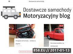 Miniaturka www.dostawcze-samochody.com.pl (Informacje, porady oraz artykuły motoryzacyjne)