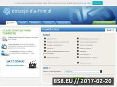 Miniaturka domeny www.dotacje-dla-firm.pl