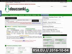 Miniaturka douczanki.pl (Portal ogłoszeń korepetycji)