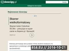 Miniaturka domeny www.dowcipy.pl