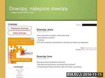 Zrzut strony Dowcipy