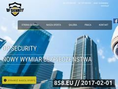 Miniaturka dp-security.pl (Strona Agencji ochrony DP Security)