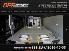 Miniaturka domeny www.dpf-serwis.pl
