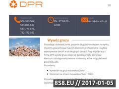 Miniaturka domeny dpr.info.pl