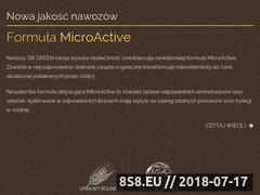 Miniaturka domeny dr-green.pl
