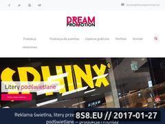 Miniaturka Reklama świetlna (www.dreampromotion.pl)