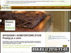 Miniaturka drew-poland.pl (Drzwi i <strong>meble drewniane</strong> Drew-Poland)