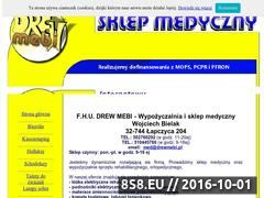 Miniaturka drewmebi.pl (Materace przeciwodlezynowe)
