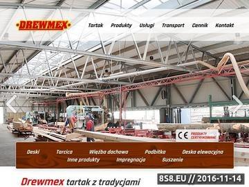 Zrzut strony Skład tarcicy Kraków / tartak Drewmex