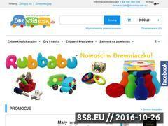 Miniaturka domeny www.drewniaczek.eu
