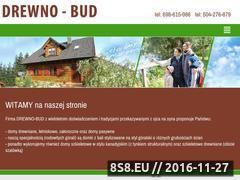 Miniaturka domeny www.drewnobud.pl