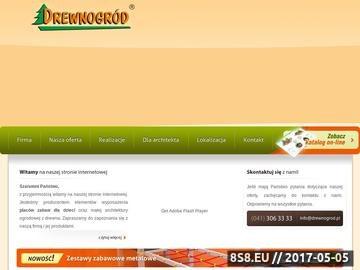 Zrzut strony Drewnogród - place zabaw, radosna szkoła