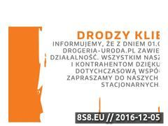 Miniaturka domeny www.drogeria-uroda.pl