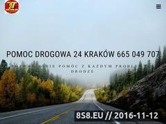 Miniaturka domeny www.drogowapomoc24.pl