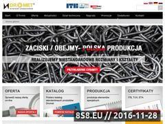 Miniaturka domeny www.dromet.pl