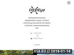 Miniaturka www.droneye.pl (Filmowanie z lotu ptaka)