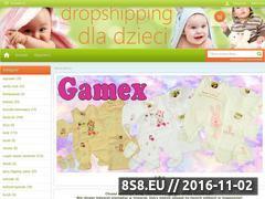 Miniaturka domeny www.dropshipping-dla-dzieci.skklep.pl