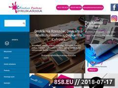 Miniaturka drukarniacreative.pl (Drukarnia Rzeszów - wizytówki, ulotki oraz banery)