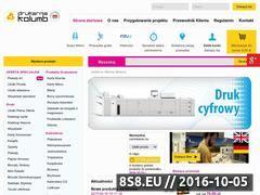 Miniaturka domeny www.drukarniakolumb.pl