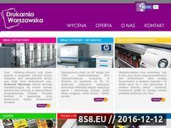 Miniaturka domeny www.drukarniawarszawska.pl