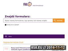 Miniaturka www.druki-formularze.pl (Druki podatkowe i formularze ZUS)