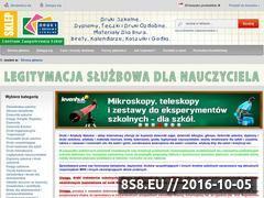 Miniaturka domeny www.drukiszkolne.net.pl