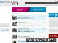 Miniaturka domeny drukmania.com