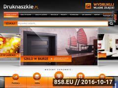 Miniaturka domeny www.druknaszkle.pl