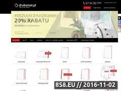 Miniaturka domeny www.drukomat.pl