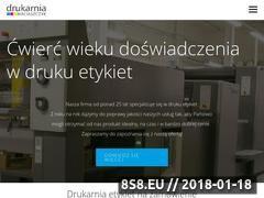 Miniaturka domeny drukujemyetykiety.com