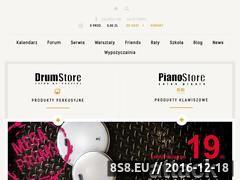 Miniaturka www.drumstore.pl (Perkusje elektroniczne)