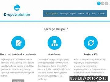 Zrzut strony Tworzenie stron internetowych, e-sklepów i aplikacji w CMS Drupal. Warszawa