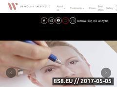 Miniaturka drwojcik.pl (Klinika Dr W Aesthetic Kraków - licówki)