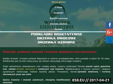 Zrzut strony Szkółka drzew i krzewów