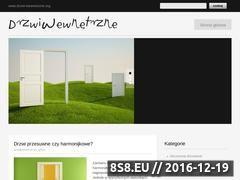 Miniaturka domeny drzwi-wewnetrzne.org