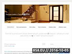 Miniaturka domeny drzwistolmat.wordpress.com