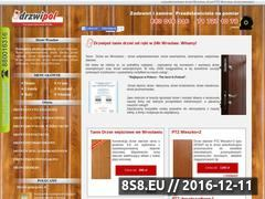 Miniaturka domeny www.drzwiwewroclawiu.pl