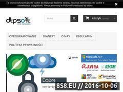 Miniaturka domeny www.dtpsoft.pl