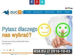 Miniaturka domeny ducers.pl