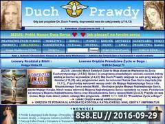 Miniaturka domeny www.duchprawdy.com