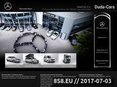 Miniaturka duda-cars.mercedes-benz.pl (Samochody Mercedes-Benz)