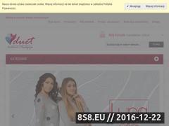 Miniaturka domeny www.duetsklep.pl