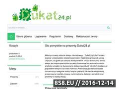 Miniaturka domeny www.dukat24.pl