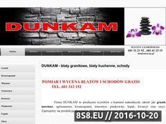 Miniaturka domeny www.dunkam.pl